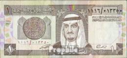 Saudi-Arabien Pick-Nr: 21d Bankfrisch 1984 1 Riyal - Saudi-Arabien