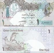 Qatar Pick-Nr: 28 Bankfrisch 2008 1 Riyal - Qatar