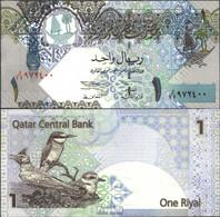 Qatar Pick-Nr: 20 Bankfrisch 2003 1 Riyal - Qatar