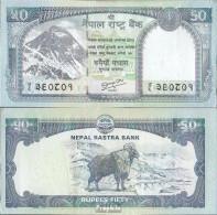 Nepal Pick-Nr: 72 Bankfrisch 2012 50 Rupees - Nepal