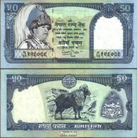 Nepal Pick-Nr: 48 Bankfrisch 2002 50 Rupees - Nepal
