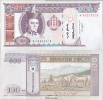 Mongolei Pick-Nr: 65b Bankfrisch 2008 100 Tugrik - Mongolei