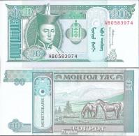 Mongolei Pick-Nr: 54 Bankfrisch 1993 10 Tugrik - Mongolia