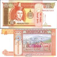 Mongolei Pick-Nr: 53 Bankfrisch 1993 5 Tugrik - Mongolia