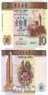 Macau Pick-Nr: 90 Bankfrisch 1995 10 Patacas - Macau