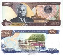 Laos Pick-Nr: 34a Bankfrisch 1997 5.000 Kip - Laos