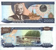 Laos Pick-Nr: 33a Bankfrisch 1997 2.000 Kip - Laos