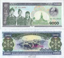Laos Pick-Nr: 32A A Bankfrisch 1998 1.000 Kip - Laos