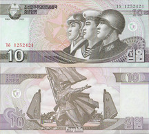 Nord-Korea Pick-Nr: 59 Bankfrisch 2002 10 Won - Korea (Nord-)