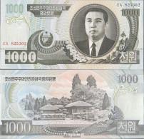 Nord-Korea Pick-Nr: 45b Bankfrisch 2006 1.000 Won - Korea (Nord-)