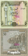 Nordjemen (Arabische Rep.) Pick-Nr: 27A Bankfrisch 1993 50 Rials - Jemen