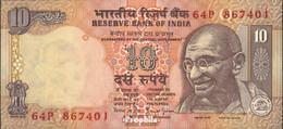Indien Pick-Nr: 89c Bankfrisch 1996 10 Rupees - Indien