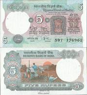 Indien Pick-Nr: 80j Bankfrisch 1985 5 Rupees - Indien