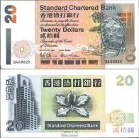 Hongkong Pick-Nr: 285a Bankfrisch 1993 20 Dollars - Hongkong