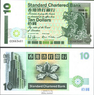 Hongkong Pick-Nr: 284b (1994) Bankfrisch 1994 10 Dollars - Hongkong