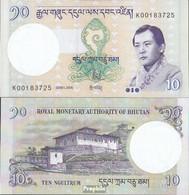 Bhutan Pick-Nr: 29a Bankfrisch 2006 10 Ngultrum - Bhutan