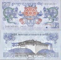 Bhutan Pick-Nr: 27b Bankfrisch 2013 1 Ngultrum - Bhoutan