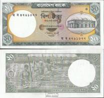 Bangladesch Pick-Nr: 48d Bankfrisch 2011 20 Taka - Bangladesch