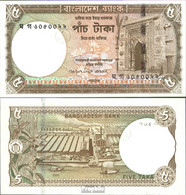 Bangladesch Pick-Nr: 46a Bankfrisch 2006 5 Taka - Bangladesch