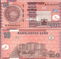 Bangladesch Pick-Nr: 39Aa Bankfrisch 2006 10 Taka - Bangladesch