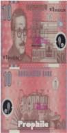 Bangladesch Pick-Nr: 35 Bankfrisch 2000 10 Taka (plastic) - Bangladesch