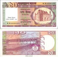 Bangladesch Pick-Nr: 32 (33) Bankfrisch 1996 10 Taka - Bangladesch