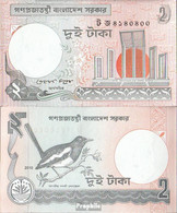 Bangladesch Pick-Nr: 6C N Bankfrisch 2010 2 Taka - Bangladesch