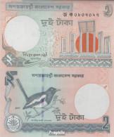 Bangladesch Pick-Nr: 6C J Bankfrisch 2007 2 Taka - Bangladesch