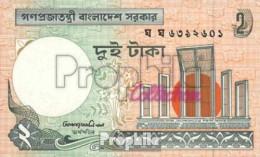 Bangladesch Pick-Nr: 6C H Bankfrisch 2004 2 Taka - Bangladesch