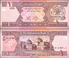 Afghanistan Pick-Nr: 64a Bankfrisch 2002 1 Afghanis - Afghanistan