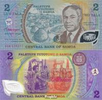 Samoa Pick-Nr: 31e Bankfrisch 1990 2 Tala (plastic) - Samoa