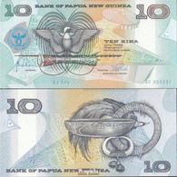 Papua-Neuguinea Pick-Nr: 17a Bankfrisch 1998 10 Kina - Papua-Neuguinea
