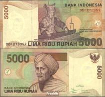 Indonesien Pick-Nr: 142e Bankfrisch 2005 5.000 Rupiah - Indonesien