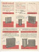 Publicité , RADIAGAZ , LE MANS , Sarthe , Frais Fr : 1.45e - Advertising