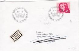 Brief Von La Chaux - De  - Fonds / Journée De L`Aörophilatélie 25.4.70 Nach 8722 Kalterbrunn. Mi: 908 - Suisse