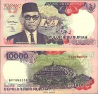Indonesien Pick-Nr: 131c Bankfrisch 1994 10.000 Rupiah - Indonesien