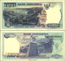 Indonesien Pick-Nr: 129g Bankfrisch 1998 1.000 Rupiah - Indonesien