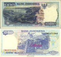 Indonesien Pick-Nr: 129d Bankfrisch 1995 1.000 Rupiah - Indonesien