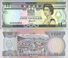Fidschi-Inseln Pick-Nr: 89a Bankfrisch 1993 1 Dollar - Fidschi