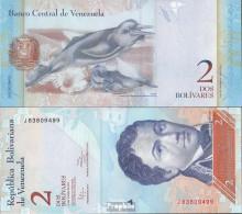 Venezuela Pick-Nr: 88d (31.01.2012) Bankfrisch 2012 2 Bolivares - Venezuela