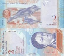 Venezuela Pick-Nr: 88a (20.3.2007) Bankfrisch 2007 2 Bolivares - Venezuela