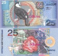 Suriname Pick-Nr: 148 Bankfrisch 2000 25 Gulden Vogel - Suriname