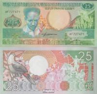 Suriname Pick-Nr: 132b Bankfrisch 1988 25 Gulden - Suriname