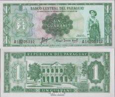 Paraguay Pick-Nr: 193a Bankfrisch 1952 1 Guarani - Paraguay