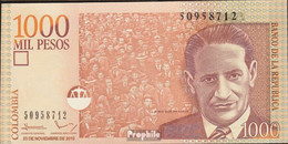 Kolumbien Pick-Nr: 456m Bankfrisch 2010 1.000 Pesos - Kolumbien
