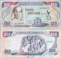 Jamaica Pick-Nr: 89 Bankfrisch 2012 50 Dollars - Jamaica
