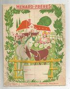 Protége Cahier , MENARD FRERES , THOUARS , Deux Sèvres , Petit état , 2 Scans , Frais Fr : 1.55e - Book Covers