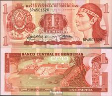 Honduras Pick-Nr: 68c Bankfrisch 1989 1 Lempira - Honduras