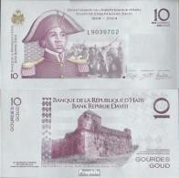 Haiti Pick-Nr: 272e Bankfrisch 2012 10 Gourdes - Haïti
