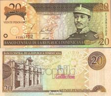 Dominikanische Republik Pick-Nr: 169b Bankfrisch 2002 20 Pesos Oro - Dominikanische Rep.